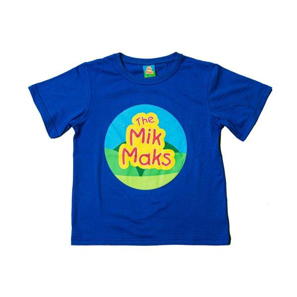 The Mik Maks blue t-shirt