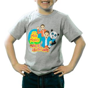 The Mik Maks Musical Adventures t-shirt