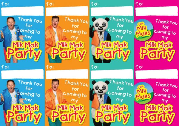 The Mik Maks Birthday Party downloadables