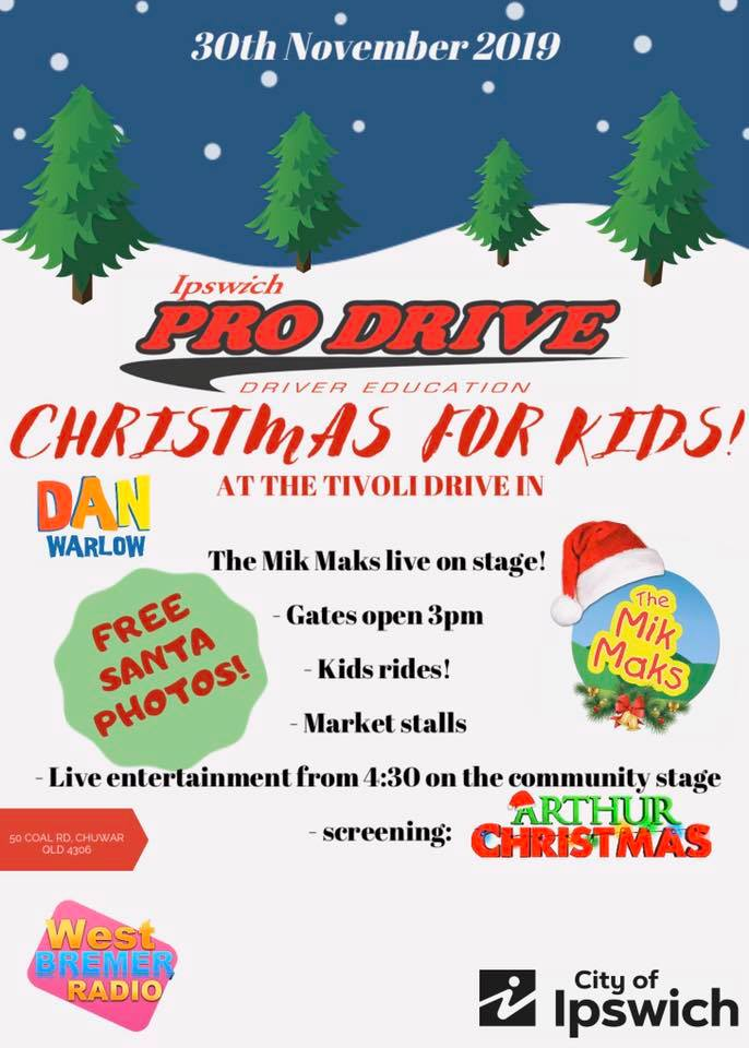 Christmas for the Kids at Tivoli Drive In