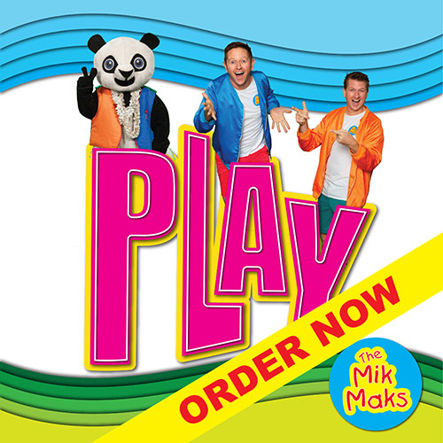 The Mik Maks New Album Play Now Available